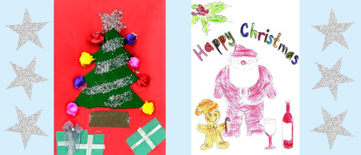 Christmas Card Competition Winners 2017