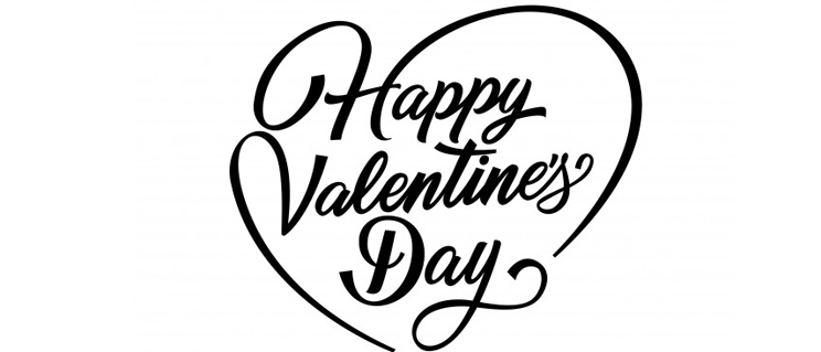 Happy Valentines Day Lettering 1262 6829 Brothers Of Charity England